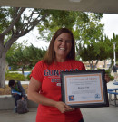 2016 Classified School Employee of the Year Award goes to Sharon Tait