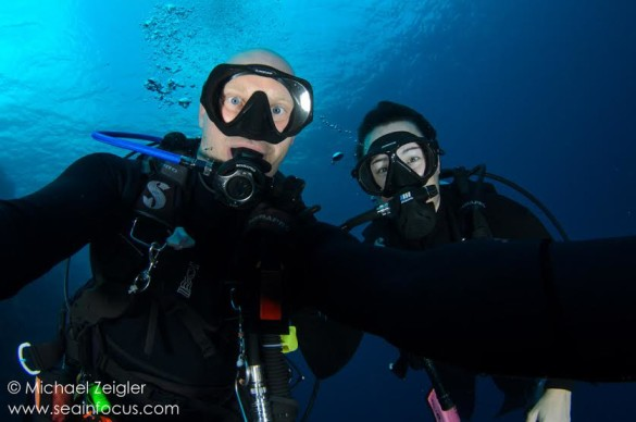 Zeigler and her husband loves to scuba dive  at Turks and Caicos. Photo provided by Minnie Zeigler.