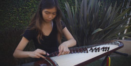 Trinity Nguyen displays her passion and culture in one instrument