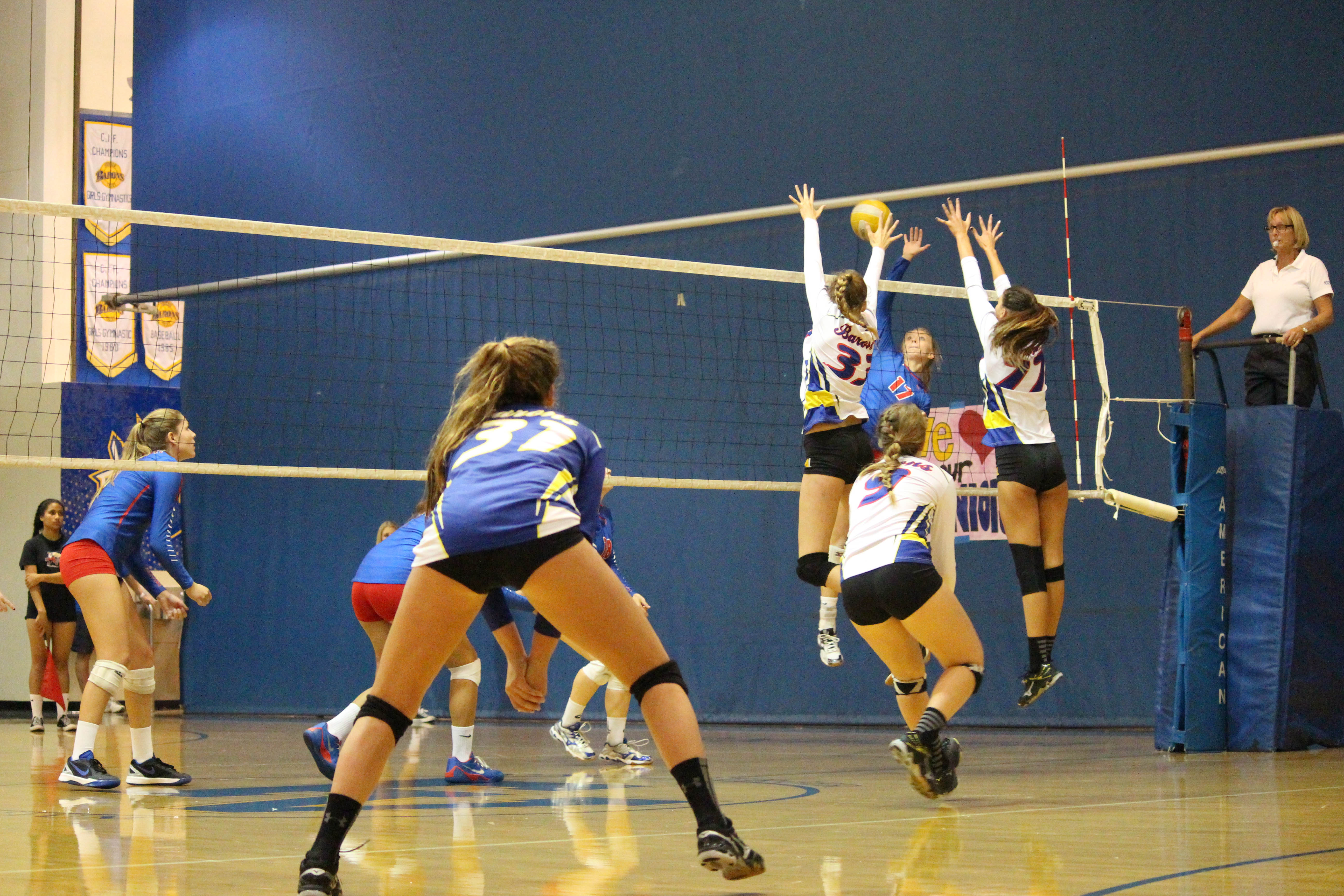 Girls Volleyball Defeated By Los Alamitos On Senior Night Baron News
